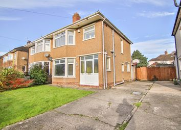 Thumbnail 3 bedroom semi-detached house for sale in Heol Cae-Rhys, Rhiwbina, Cardiff