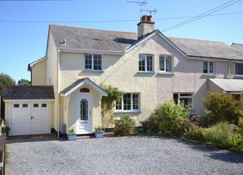 Thumbnail 3 bed semi-detached house for sale in Knowle Village, Knowle, Budleigh Salterton, Devon