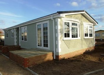 Thumbnail 3 bed mobile/park home for sale in Beck Row, Bury St. Edmunds, Suffolk