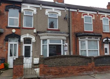 Thumbnail 3 bed terraced house to rent in Wollaston Road, Cleethorpes