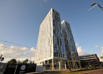 1 bed flat to rent in Michigan Point Tower B, Michigan Avenue, Media City, Salford M50