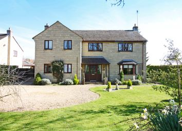 Thumbnail 4 bed detached house for sale in Bainton Road, Tallington, Stamford
