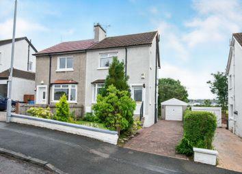 Thumbnail 2 bedroom semi-detached house for sale in Crosslees Drive, Thornliebank, Glasgow