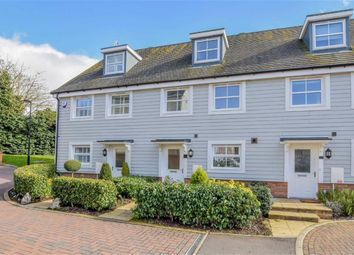 Thumbnail 3 bed terraced house for sale in Plaxton Way, Ware, Hertfordshire