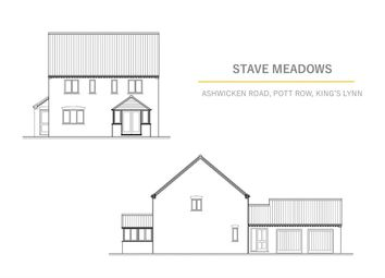 Thumbnail 4 bedroom detached house for sale in Chapel Road, Pott Row, King's Lynn