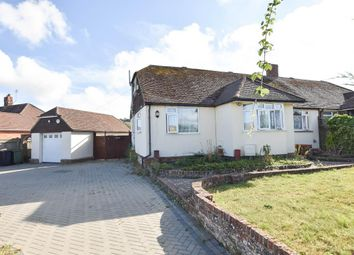 Thumbnail 3 bed semi-detached house for sale in Oldfield Road, Willingdon, Eastbourne