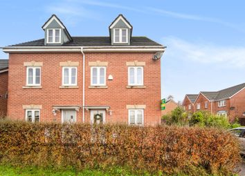 Thumbnail 3 bed town house for sale in Llanddwyn Island Close, Caerphilly
