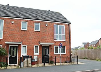Thumbnail 2 bedroom town house for sale in Comet Avenue, Newcastle-Under-Lyme