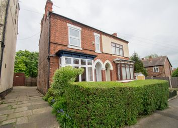 Thumbnail 3 bed semi-detached house for sale in Robinson Road, Mapperley, Nottingham