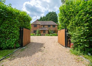Thumbnail 4 bed detached house for sale in Highams Lane, Chobham, Woking, Surrey