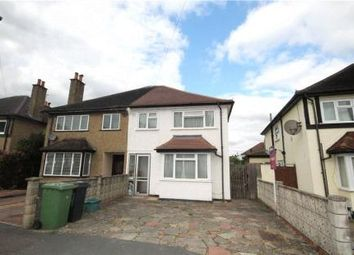 Thumbnail 3 bed semi-detached house for sale in Horsley Close, Epsom