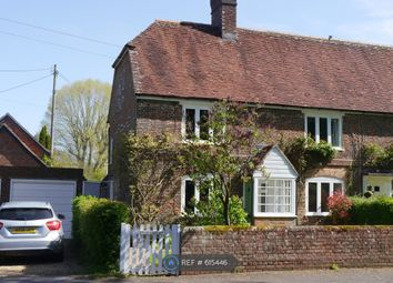 Thumbnail 3 bed semi-detached house to rent in Bishops Sutton, Alresford