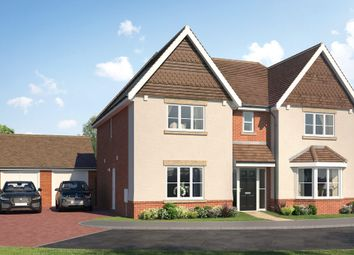 Thumbnail 5 bed detached house for sale in The Stanning, Amen Corner, London Road, Binfield