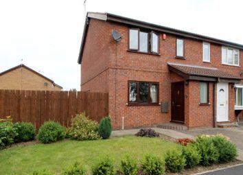 Thumbnail 3 bed semi-detached house for sale in Bracken Road, Driffield
