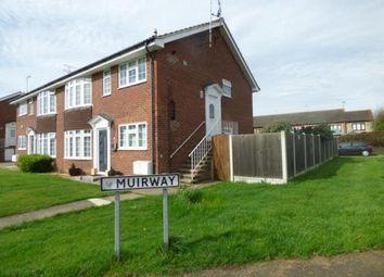 Thumbnail 2 bed maisonette for sale in Muirway, Benfleet