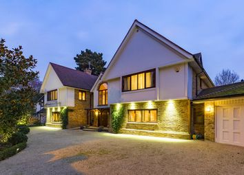 Thumbnail 9 bedroom detached house for sale in Warren Park, Kingston Upon Thames, Surrey