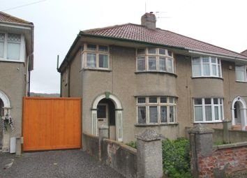 Thumbnail 3 bed semi-detached house for sale in Earlham Grove, Weston-Super-Mare
