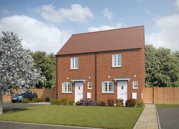 "Thumbnail 2 bed terraced house for sale in ""The Beverley"" at Whitelands Way, Bicester"