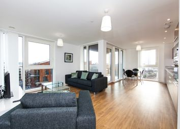 Thumbnail 2 bed flat for sale in Greenland Place, Oslo Tower, Surrey Quays