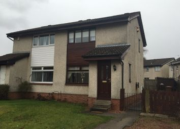 Thumbnail 2 bed semi-detached house for sale in Riverbank Drive, Bellshill
