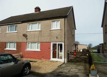 Thumbnail 3 bed semi-detached house for sale in Broddewi, Ffosyffin, Aberaeron, Ceredigion