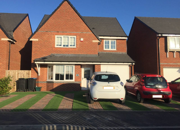 Thumbnail 4 bed detached house for sale in Woodward Road, Spennymoor
