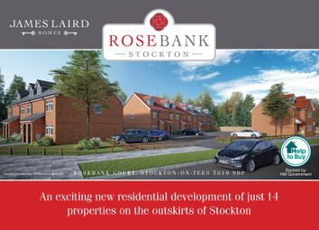 Thumbnail 3 bed semi-detached house for sale in Redhill Road, Stockton-On-Tees