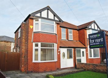 Thumbnail 3 bed semi-detached house to rent in Brook Avenue, Timperley, Altrincham