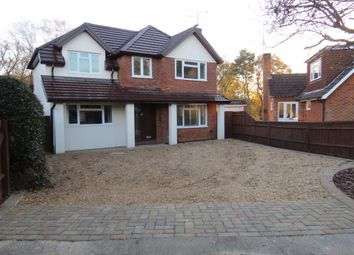Thumbnail 4 bed detached house for sale in Watchetts Lake Close, Camberley