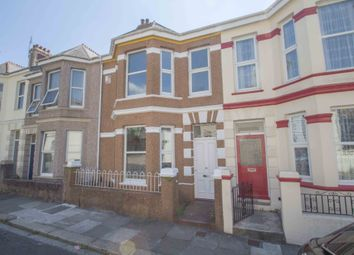 Thumbnail 3 bedroom terraced house for sale in Warleigh Road, Mutley, Plymouth