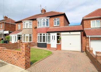 Thumbnail 3 bed semi-detached house for sale in Drayton Road, Sunderland