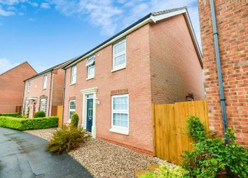 Thumbnail 4 bed detached house for sale in 8 Plover Walk, Market Rasen
