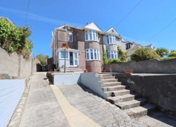 Thumbnail 3 bed semi-detached house for sale in Dean Park Road, Plymouth