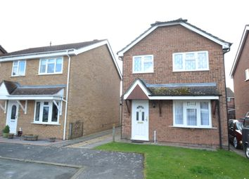 Thumbnail 3 bed detached house for sale in Guy Cook Close, Great Cornard, Sudbury