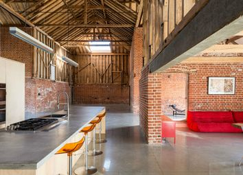 Thumbnail 5 bed barn conversion for sale in The Street, Assington, Sudbury