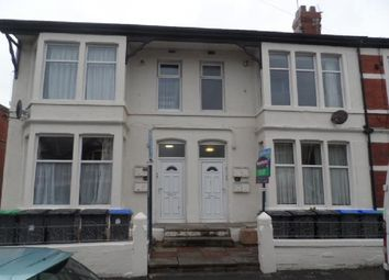 Thumbnail 1 bed flat to rent in Saville Road, Blackpool
