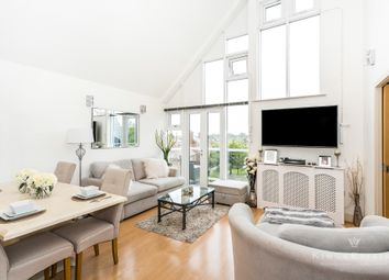 Thumbnail 2 bed flat for sale in Lindel Court, Kings Hill, West Malling