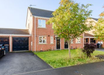 Thumbnail 3 bed semi-detached house for sale in Ivyway, Chester Le Street