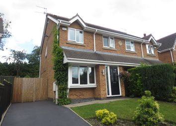 Thumbnail 3 bedroom semi-detached house for sale in Charolais Crescent, Lightwood, Stoke-On-Trent