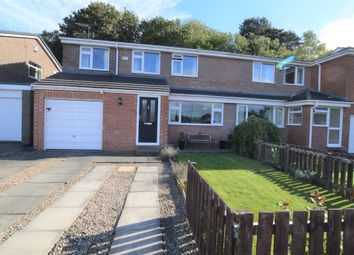 Thumbnail 4 bed semi-detached house for sale in Rowan Grove, Prudhoe