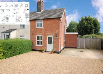 Thumbnail 2 bedroom semi-detached house for sale in Cromwell Road, Ringsfield, Beccles