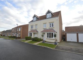Thumbnail 4 bed semi-detached house for sale in Green Crescent, Frampton Cotterell, Bristol