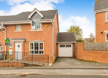 Thumbnail 3 bed semi-detached house for sale in The Oaks, Leeds