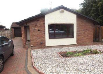 Thumbnail 2 bedroom bungalow to rent in Rhostyllen, Wrexham