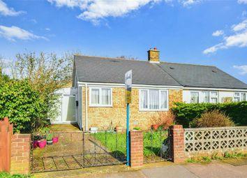 Thumbnail 1 bed semi-detached bungalow for sale in Cauldham Close, Capel-Le-Ferne, Folkestone, Kent