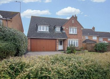 Thumbnail 4 bed detached house for sale in Meadow Sweet Road, Rushden