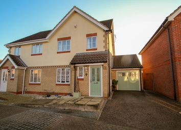 3 bed semi-detached house for sale in Soames Close, Stowmarket IP14