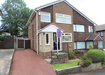 Thumbnail 3 bed semi-detached house for sale in 8 Honiton Close, Chadderton