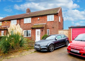 Thumbnail 3 bed semi-detached house for sale in Station Road, Womersley, Doncaster