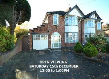 Thumbnail 3 bed semi-detached house for sale in Northcote Road, Leicester